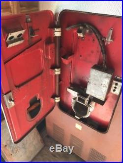 Vintage Original Coca-Cola Coke Vending Machine Vendo Big Boy Vertical VMC-334