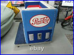 Vintage PEPSI Ideal machine couch / love seat, custom made