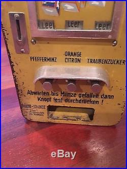 Vintage PEZ European Vending Machine From 1958