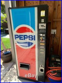 Vintage Pepsi-Cola 50c Vending Machine