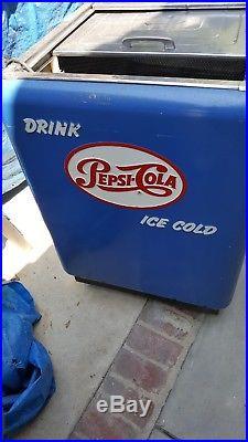 Vintage Pepsi Cola Large Chest
