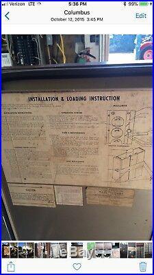 Vintage Pepsi Cola Vending Machine Very Cold Indoor Or Outdoor