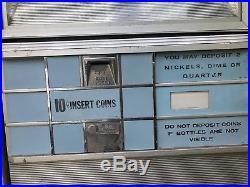 Vintage Pepsi Machine Rare Yellow Sign 1960s 1970s