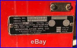 Vintage Pepsi Vendorlator Vendo Co Vending Machine VFA56B-B 510045882