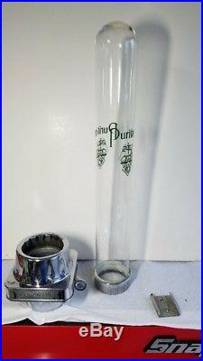Vintage Puritan Cup Dispenser Glass Tube Soda Fountain Vending Shop, Mancave