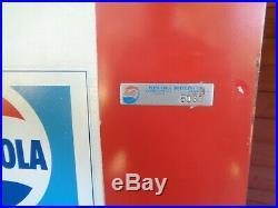 Vintage Rare Choice Vend Pepsi Cola Soda Bottle/Can Vending Machine