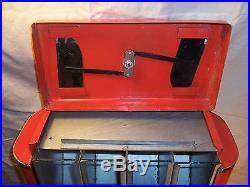 Vintage Rare Countertop Candy Nut Vending Machine ArtDeco Coin OP Dispenser 4 1
