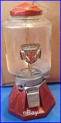 Vintage Restored Northwestern Model 33 Painted Peanut Machine