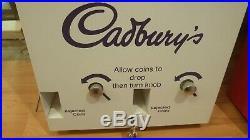 Vintage Retro Cadburys Chocolate Sweet Vending Machine Dispenser Man Cave Den