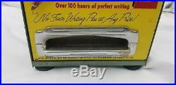 Vintage Rite Master Ballpoint Pen Coin Op Dispenser Works