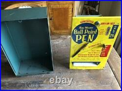 Vintage Rite Master Pen Dispenser Vending Machine