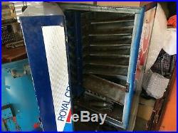 Vintage Royal Crown Cola Vending Machine RC Soda Local Pickup ONLY Estate Sale