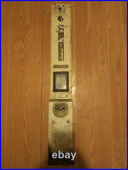 Vintage Sanitary Vending Machine Napkin maxi Pad Dispenser Coin Op 5c