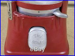 Vintage Silver King Hot Nut Vending Candy Peanut Gumball Machine -PARTS REPAIR