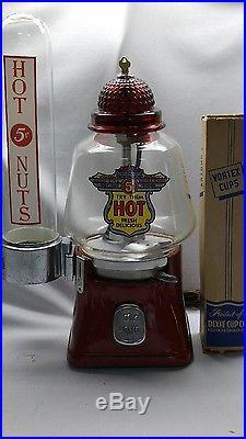 Vintage Silver King Hot Peanut Machine