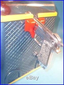 Vintage Silver King Hunter Shoot The Duck Arcade Vending Gumball Machine