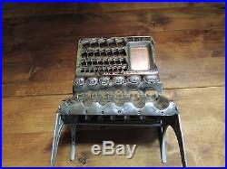 Vintage Staats Money Coin Changer Very Nice Plating Works Great L@@K