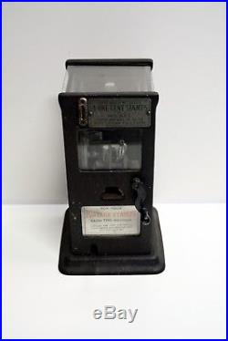 Vintage Stamp Vending Machine 4 One cent Stamps for a Nickel