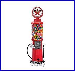 Vintage Stand Gumball Machine Bank Gas Pump Gum Ball Gasoline Service Station