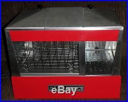 Vintage Star Manufacturing Hotdog Bun Warmer Steamer Cooker 35S