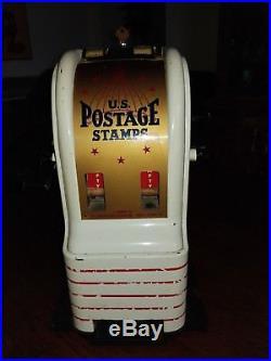 Vintage US Postage Stamp Machine Vending Dispenser