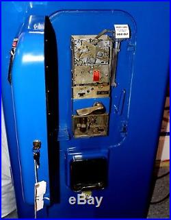 Vintage VMC Model 88 Pepsi Cola Vending Machine, Fully Restored