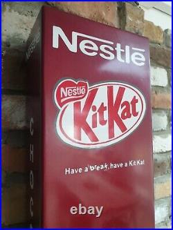 Vintage Vending Machine Kit Kat Nestle