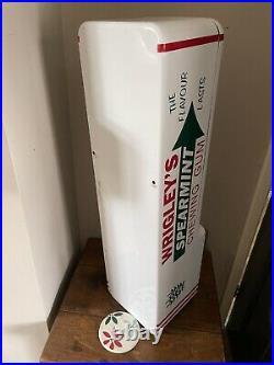 Vintage Vending Machine Wrigleys 4 Slot Machine Rare Us Import