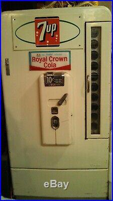 Vintage Vendo 1950s Soda Machine WORKS