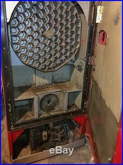 Vintage Vendo 83 Coke Machine Still Runs and Cools