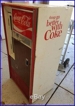 Vintage Vendo Model 63 Coca Cola Bottle Machine Coke Cooler