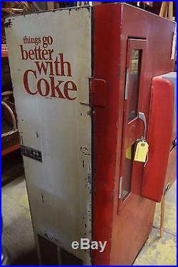 Vintage Vendorlator VF56 Coke Machine 1950's WORKS