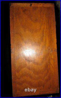 Vintage Victor Super V Grandad Gumball Candy Vending Machine Wooden Works Wood