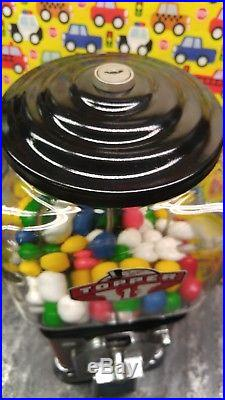 Vintage Victor Vending Counter Topper 1 Cent Gumball Machine