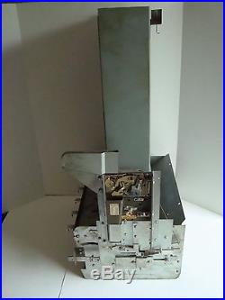 Vintage Wall Mount Cigarette Vending Machine 6 Column National Rejectors 1950's