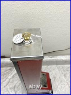 Vintage Walzer 1c Moderne Hershey Milk Chocolate Candy Vending Machine GC1