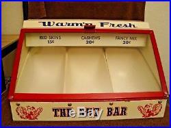 Vintage Warm'n Fresh The Nut Bar Nut Warmer/vendor. Clean And Fun