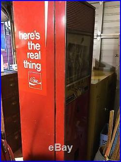 Vintage Westinghouse Coca-Cola Vending Machine Coke WC-128-MD