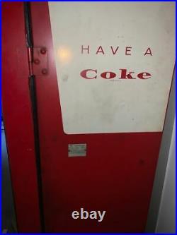 Vintage Westinghouse Coca Cola vending machine