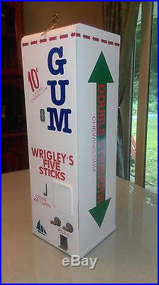 Vintage Wrigley gum vending machine