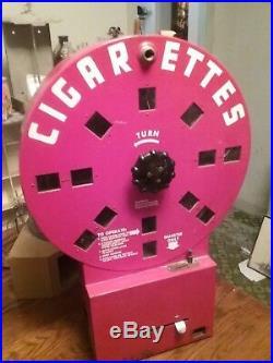 Vintage cigarette Machine Dial A Smoke
