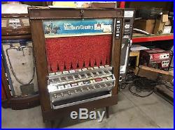 Vintage cigarette vending machine National Vendors Series 800