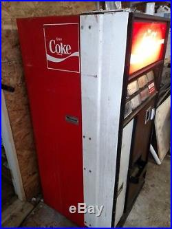 Vintage coca cola 12 oz can dispensing machine