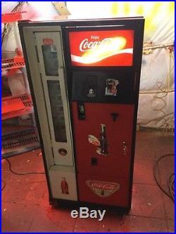 Vintage coke cavalier vendo mancave restored soda machine bottles 10 cents