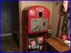 Vintage coke machine 1948