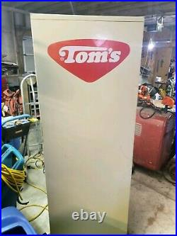 Vintage/collectors Toms Snack vending machine. Shipping available