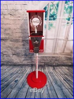 Vintage gumball machine coin op Coca cola Coke memorabilia bar Christmas gift