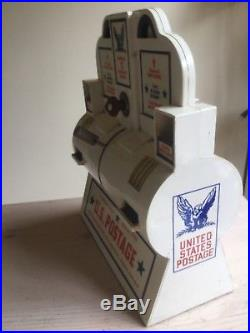 Vintage original US Post Office stamp coin operated vending machine