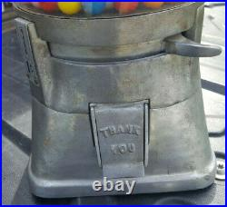 Vintage penny gum ball machine