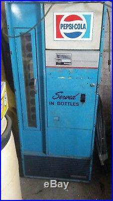 Vintage pepsi cola vending machine